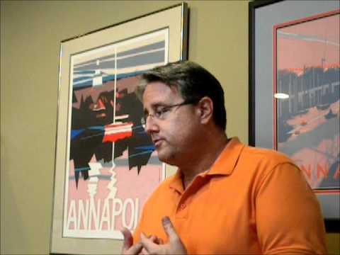 Maryland gubernatorial candidate Rich Madaleno discusses politics at UMD