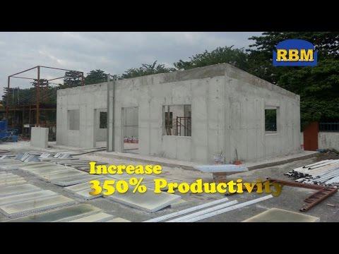 Foam concrete  house in 2 days!