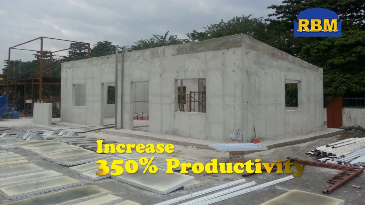 Latest concrete house in 2 days!
