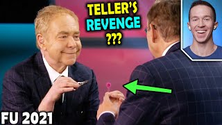 ➠ subscribe here! https://goo.gl/wp2wykfirst it was penn vs teller! now it's teller penn!! magician reacts to surprising by suddenly performin...