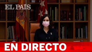 DIRECTO   AYUSO Y AGUADO comparecen tras el CONSEJO DE GOBIERNO de MADRID
