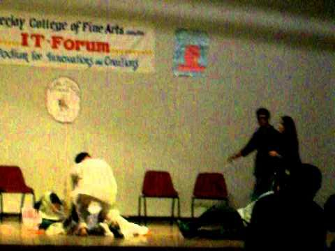 Apeejay colg of fine arts Choreography  IT forum Function