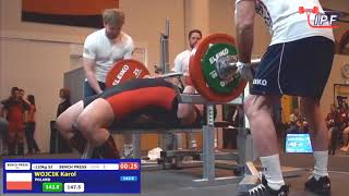 Karol Wójcik IPF World Classic Bench Press Champion 2018