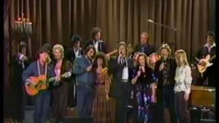 Willie, Waylon, Johnny, Kris, & Wives - On The Road Again