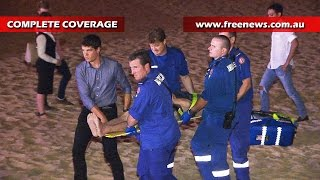 Passers by rescue a man screaming for help at Coogee beach