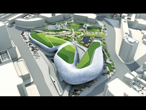 Transforming Dongdaemun Design Park + Plaza with BIM | The B1M