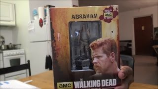 The Walking Dead Collector's Model: Abraham UNBOXING!!!
