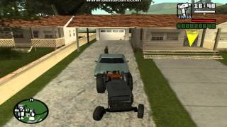 GTA: San Andreas - How To Get Near Invulnerable Green Sabre