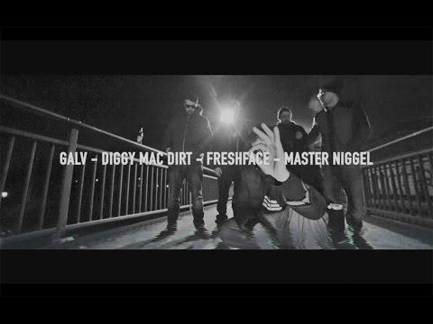 Pretty Dirty Cypher 002 - Galv / Diggy Mac Dirt / FreshFace / Master Niggel