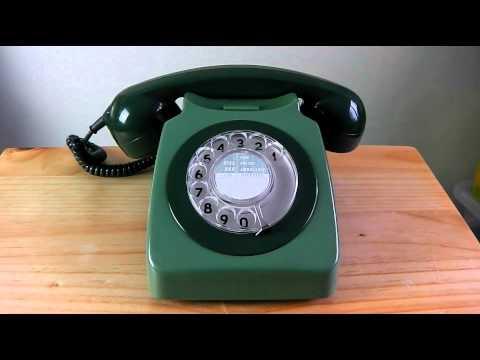Old 1960s UK phone ringing