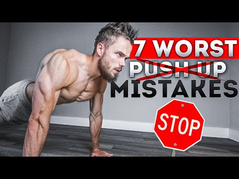7 WORST Push Up Mistakes Killing Your CHEST Gains! STOP THESE!
