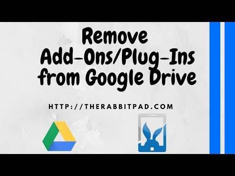 How to Remove Add Ons from Google Drive