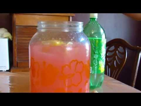 DIY Pink Lemonade With Soda