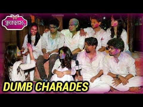 Phulpakhru | Holi Special Dumb Charades With The Team | Vaidehi And Manas