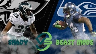 Eagles vs. Seahawks: LeSean McCoy vs. Marshawn Lynch Highlights (Week 13, 2011) | NFL