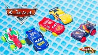 Disney Cars Hydro Wheels Fabulous McQueen Splash Racers Jouet Piscine Bain Water Toy Review