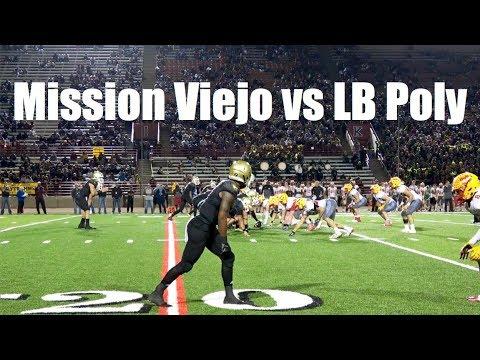 Mission Viejo vs Long Beach Poly, V Football 2017