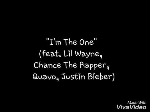 Justin bieber new song lyrics - I'm the one