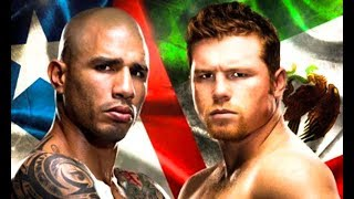 Canelo Alvarez vs Miguel Cotto - Highlights (Great FIGHT)
