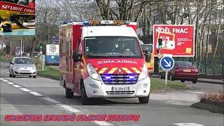 AMBULANCE SAPEURS POMPIERS - FIREFIGHTERS AMBULANCE (SDIS 29- QUIMPER 29)