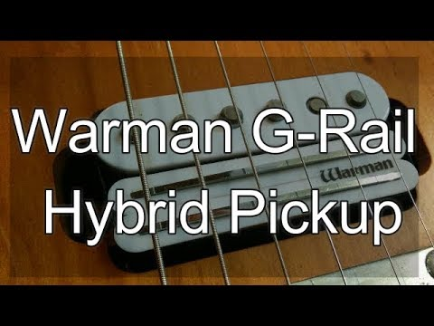 hqdefault warman guitars g rail hybrid pickup youtube warman pickup wiring diagram at soozxer.org
