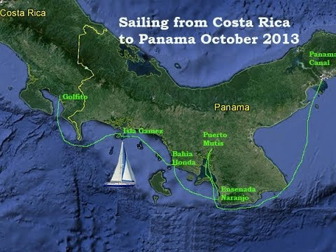 Sailing from Costa Rica to Panama