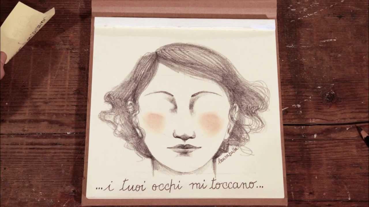Assez Come disegnare un volto Tutorial disegno a matita - Ondulalbum  LO54
