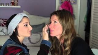 Maquiagem Com Gisele Bundchen