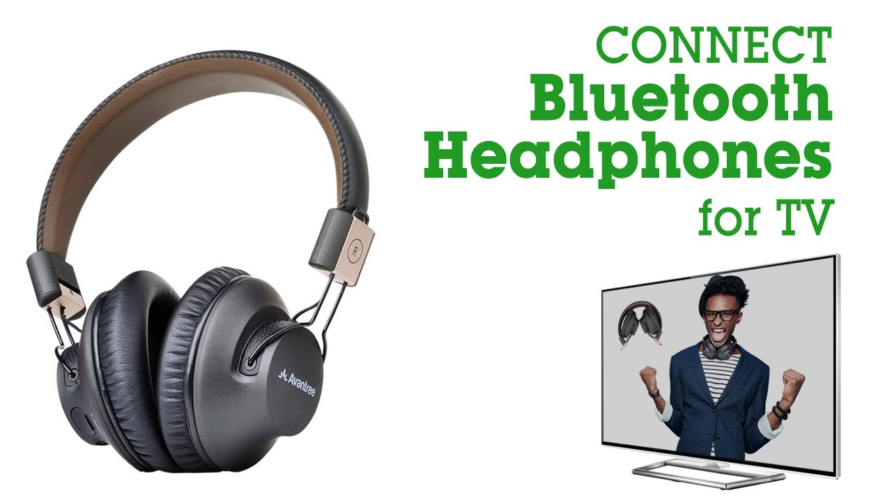539cbca8a57 Avantree How to - Bluetooth headphones for TV, LOW LATENCY Headset for no  audio delay, Audition Pro