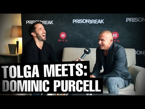 """Interview DOMINIC PURCELL: new season """"PRISON BREAK"""", his audition and Wentworth Miller"""
