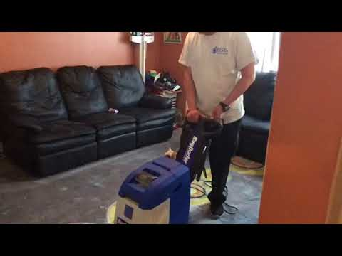 Excel Cleaning Group NJ - Using Our Cleaning Equipment In A Home