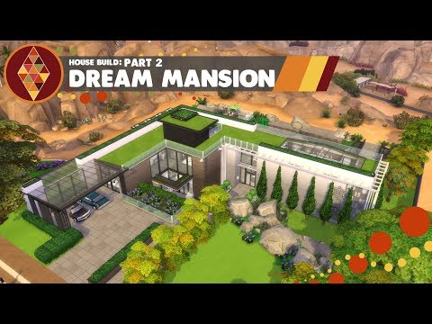 The Sims 4 Seasons - House Build - Dream Mansion part 2 | HD thumbnail