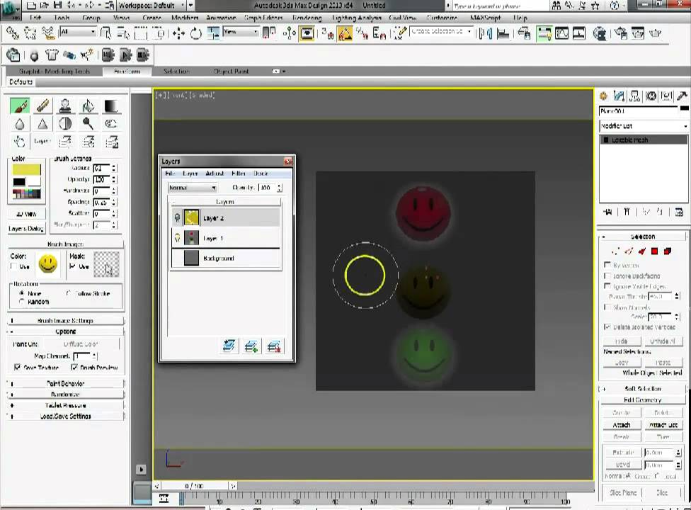 How to paint model textures directly in 3ds Max | Creative Bloq