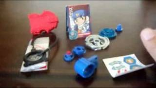 Beyblade Metal Fusion: Storm Pegasus Unboxing/Review