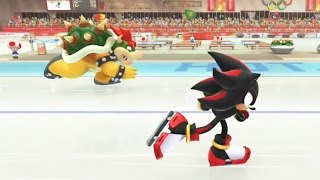 Mario and Sonic at the Sochi 2014 Olympic Winter Games - Speed Medley (Wii U)