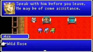 Let's Play Final Fantasy 2 (Dawn of Souls [GBA]) Blind Episode 1: Tutorials...