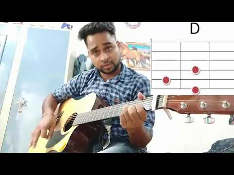 Humnava mere (jubin nautiyal) song played on guitar. Tutorial 2018