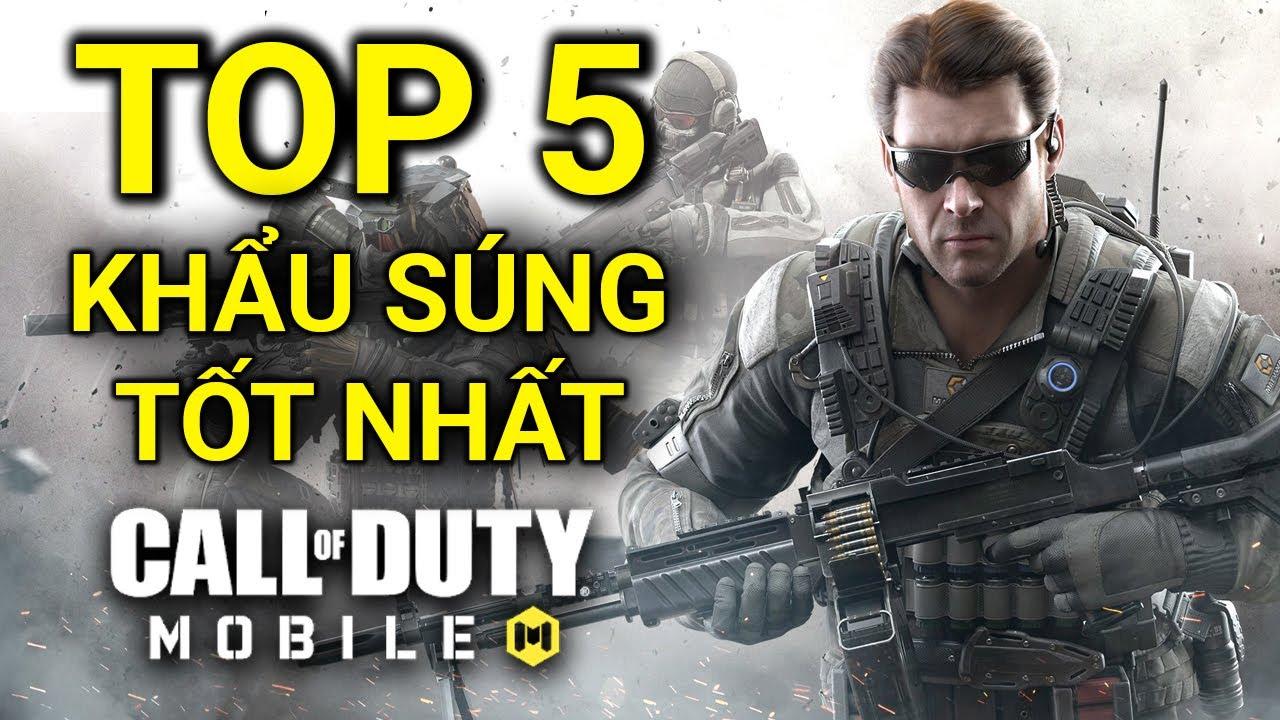 Call of Duty: Mobile | TOP 5 khẩu súng TỐT NHẤT trong Call of Duty Mobile MÙA 3 | Thạc sĩ Lâm