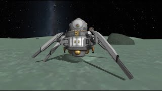 Robotic, Science Missions to Minmus to find new Features from the KSP Breaking ground DLC