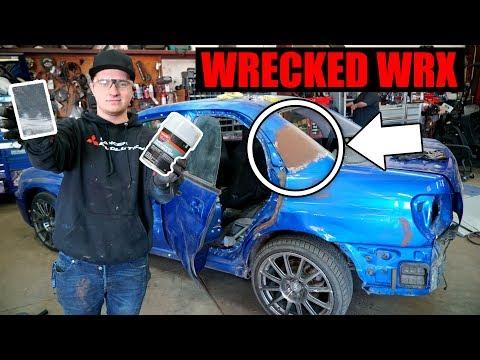 Rebuilding a Wrecked WRX Pt. 10 - Bondo/Body prep!