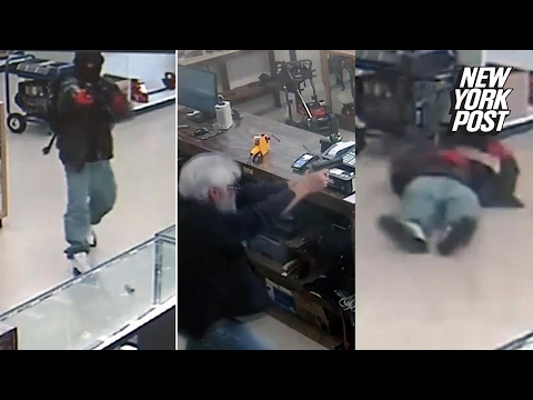 Armed robbers go after gun store, get shot by owners | New York Post