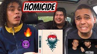 LOGIC X EMINEM - HOMICIDE [REACTION REVIEW BREAKDOWN]