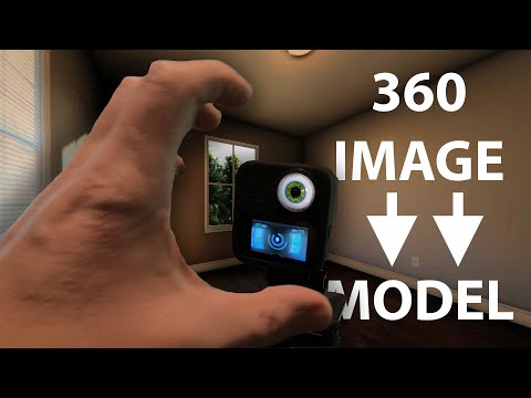Convert A 360 Photo Into A 3D MODEL - FAST!!