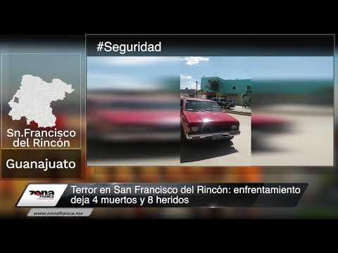 Terror en San Francisco del Rincón: enfrentamiento deja 4 muertos y 8 heridos