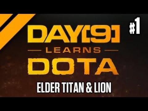 Day[9] Relaxes with Dota - Elder Titan & Lion Offlane P1