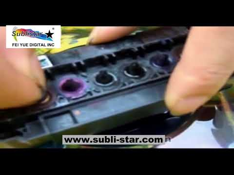 Epson DX5 Print Head, DO You Know How to Clean?