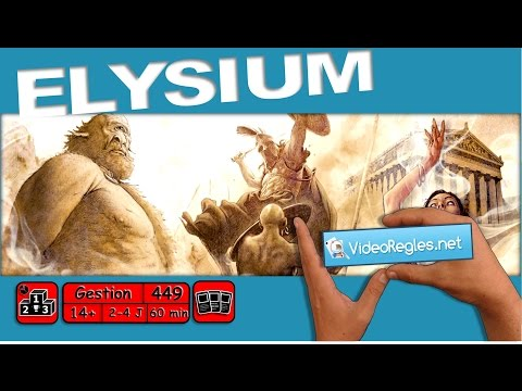 """Vidéorègle jeu de société """"Elysium"""" par Yahndrev (#449) (+sub)"""