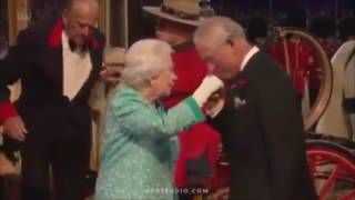 Queen II Elizabeth and Azerbaijan