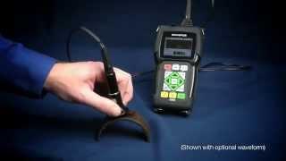 Ультразвуковой толщиномер 45MG(Прибор 45MG - усовершенствованный ультразвуковой толщиномер, оснащенный стандартными функциями и дополните..., 2014-08-14T13:22:41.000Z)