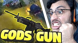 M249 IS THE GUN OF GODS | PUBG MOBILE HIGHLIGHTS | RAWKNEE